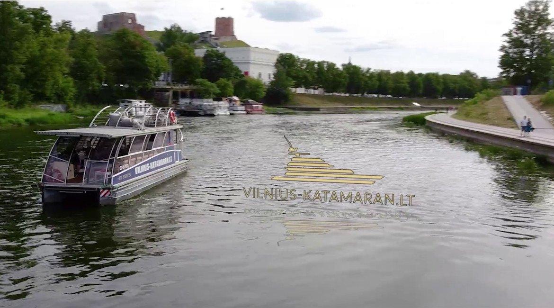 VilniusKatamaran.LT laivas